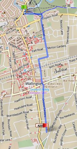 A cycle superhigway for Wallington?
